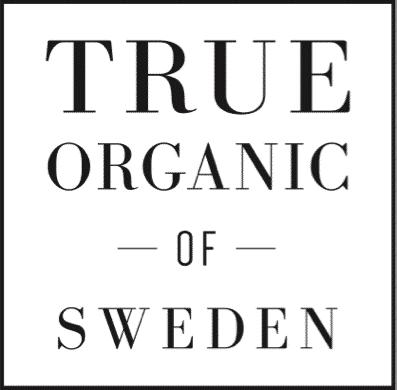 True organic of Sweden logo